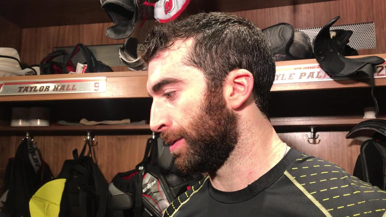 Kyle Palmieri talks about the benefit of the bye week.