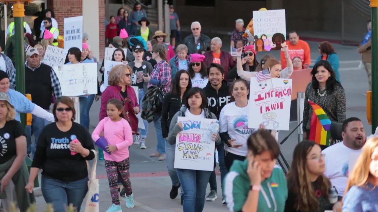 U.S. Rep. Veronica Escobar Speaks at El Paso Womens March