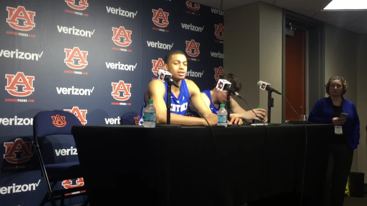 UK freshman Keldon Johnson was motivated by teammate Ashton Hagans' direction to wake up at Auburn.