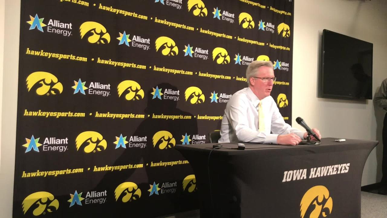 How does Iowa coach Fran McCaffery account for his team's record-setting shooting against Illinois? He empowers his players, he says. Listen in: