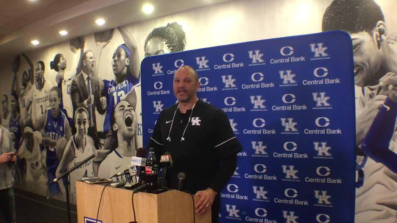 Kentucky assistant coach Tony Barbee previews Mississippi State.