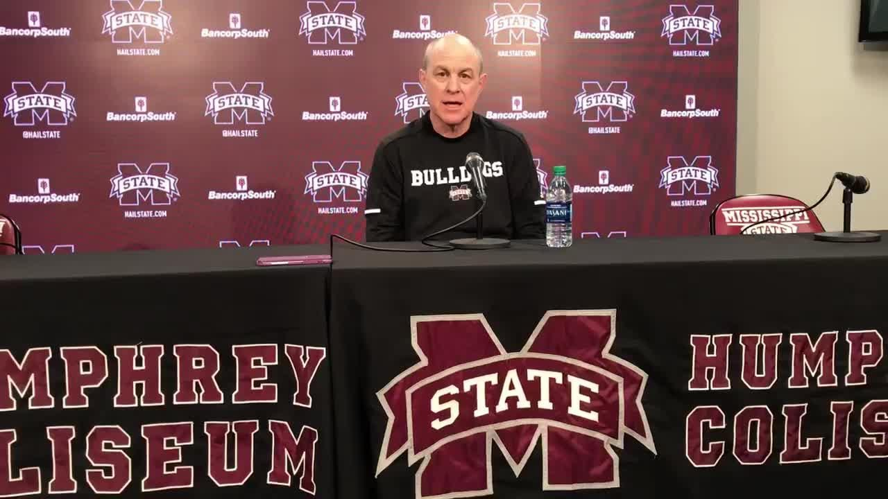 Mississippi State head coach Ben Howland previews Kentucky game.