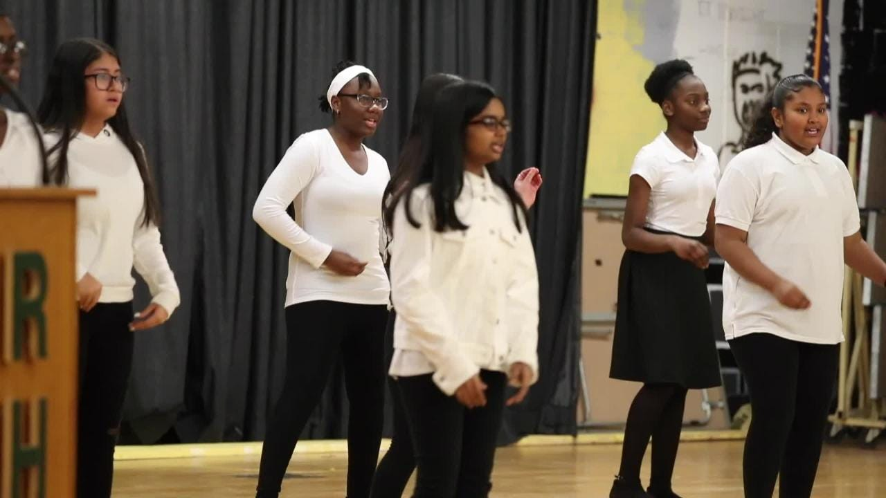 Unity Celebration and talent showcase honoring Rev. Martin Luther King Jr. at Ramapo High School in Spring Valley Jan. 21, 2019. Sponsored by the Martin Luther King Jr. Multipurpose Center in collaboration with the East Ramapo School District and the Gordon Center for Black Culture and Arts.