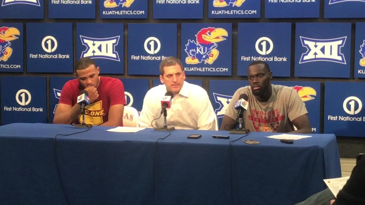 Steve Prohm on what went wrong for Iowa State at Kansas