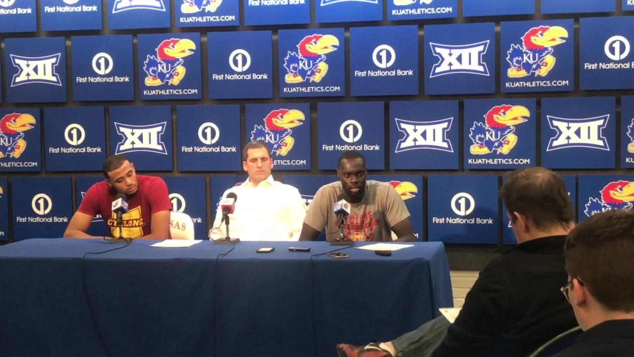 Marial Shayok on what went wrong for Iowa State in the second half Monday
