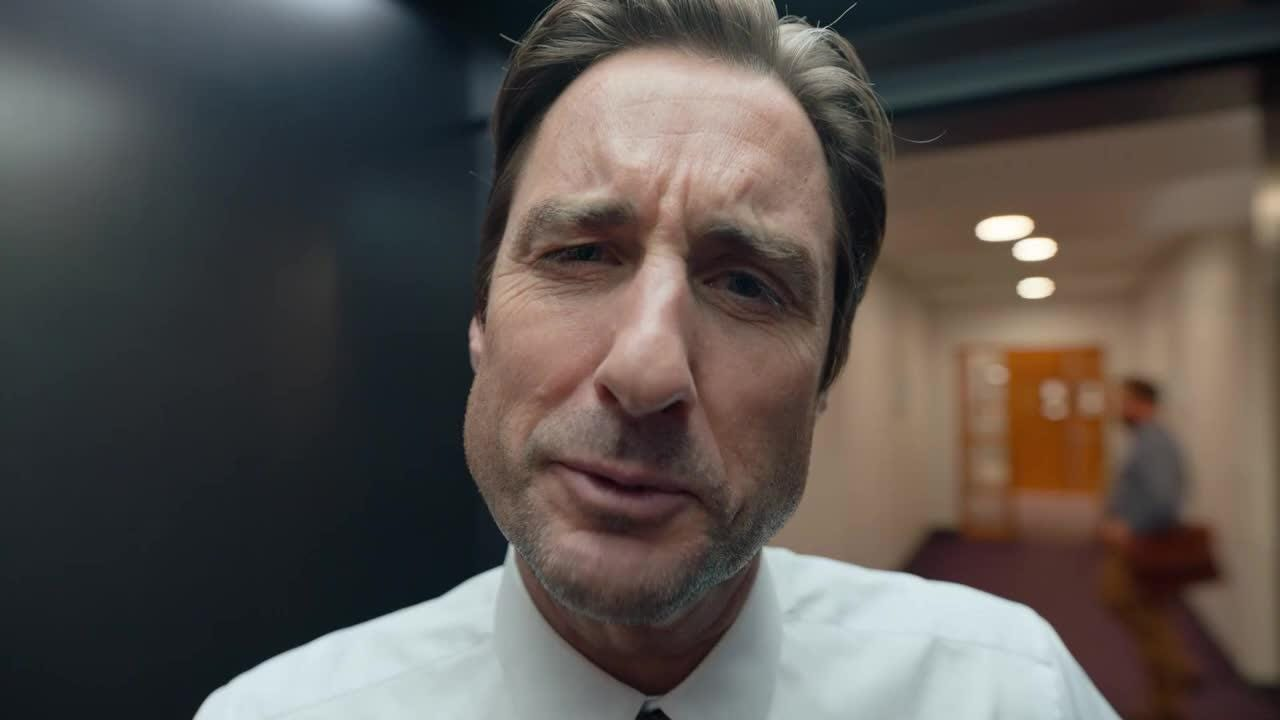 Colgate gets up close and personal in their Super Bowl ad which features actor Luke Wilson.