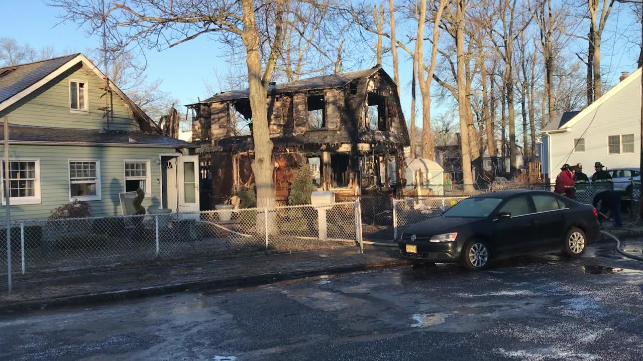 Authorities respond to fire in Keansburg