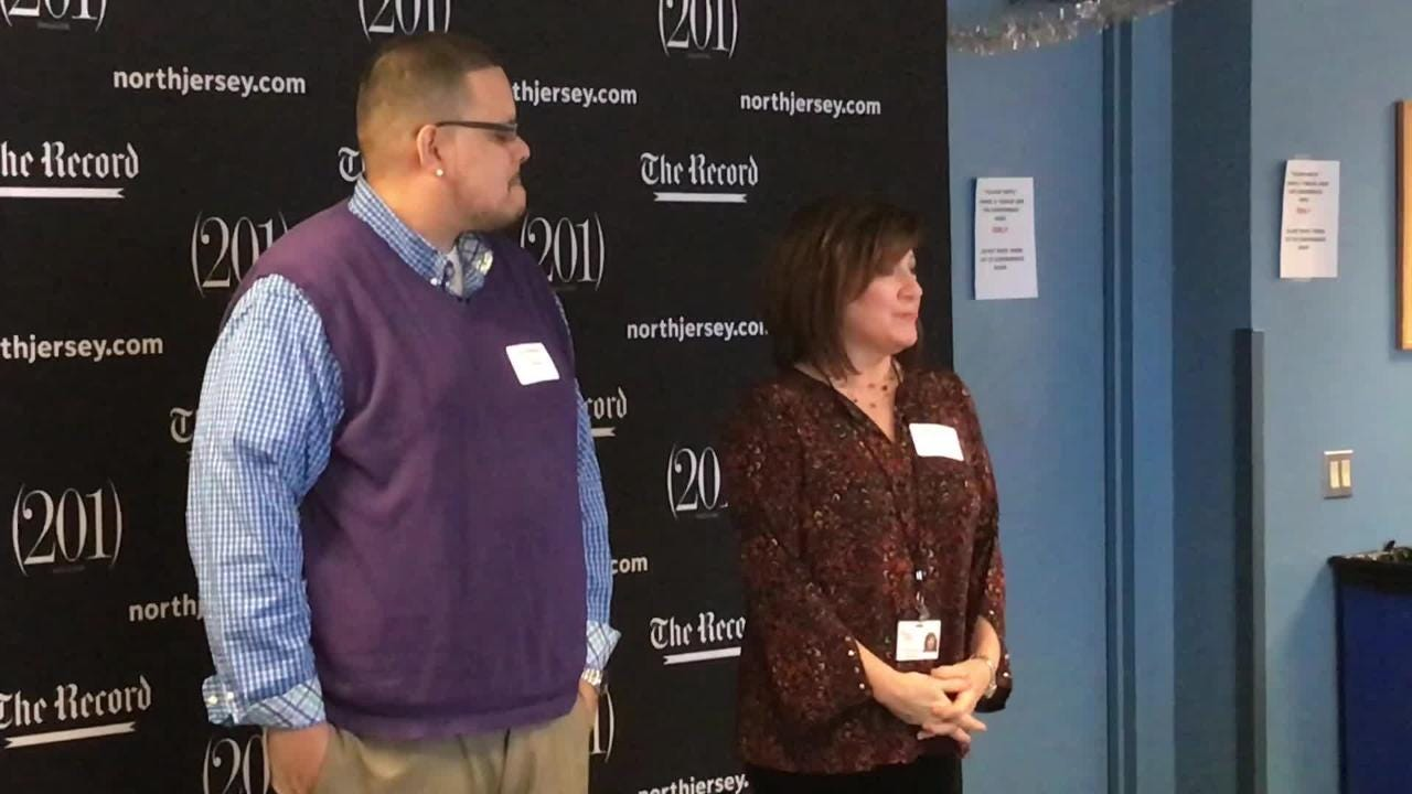 Local nonprofits receive $37,000 in grants from the Gannett Foundation at a reception at the Record's headquarters on Tuesday