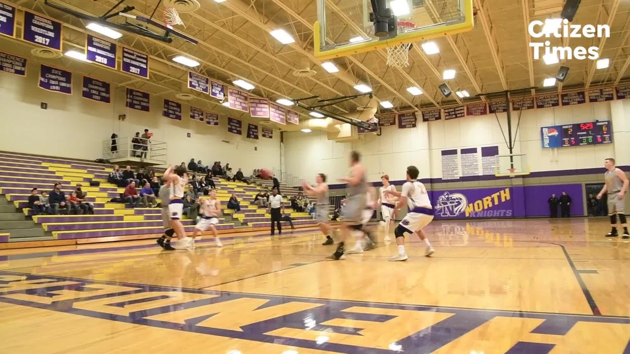 North Henderson boys basketball hosted Tuscola for their game Jan. 22, 2019. Tuscola won 75-55.