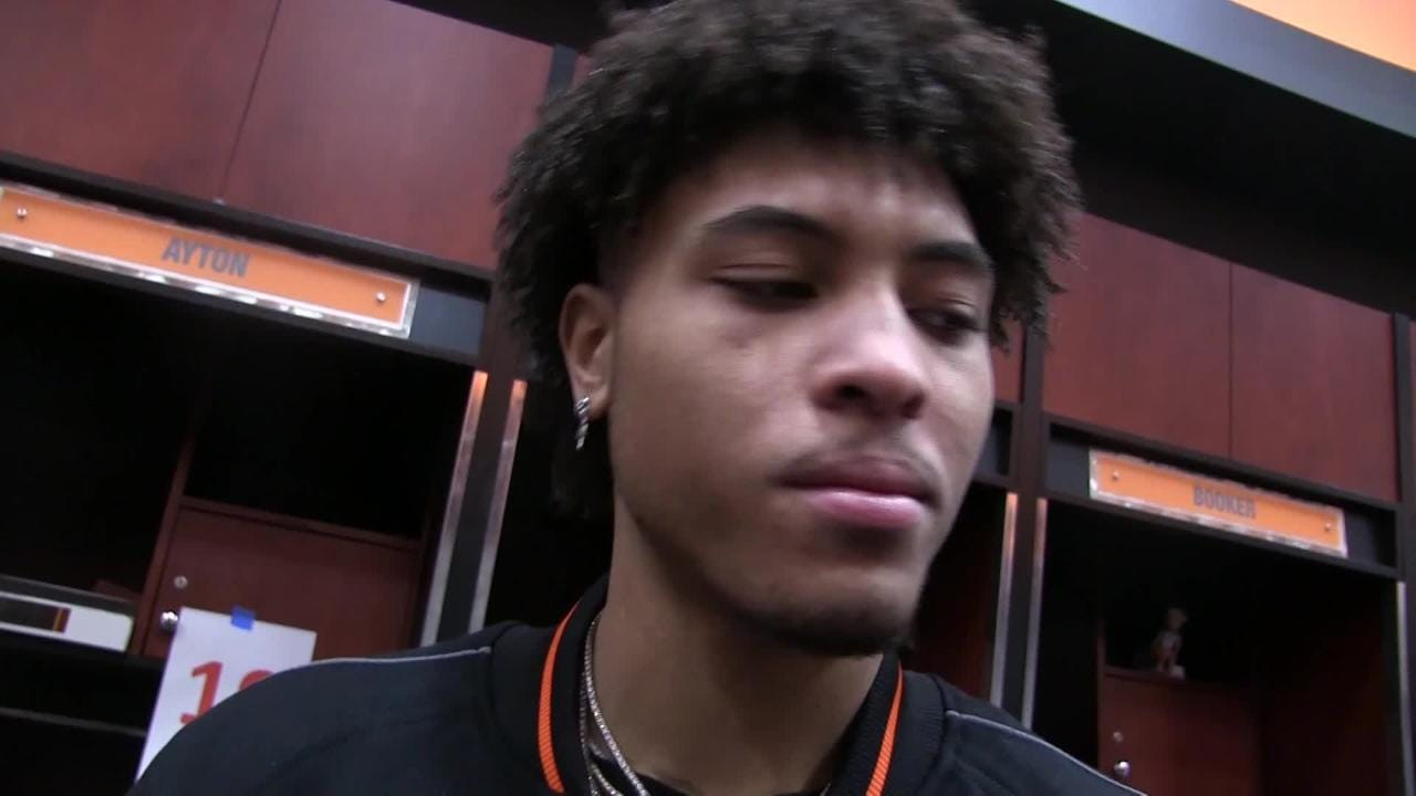 Phoenix's Kelly Oubre Jr. and Josh Jackson talk about Devin Booker being ejected in Tuesday night's 118-91 loss to Minnesota at Talking Stick Resort Arena.