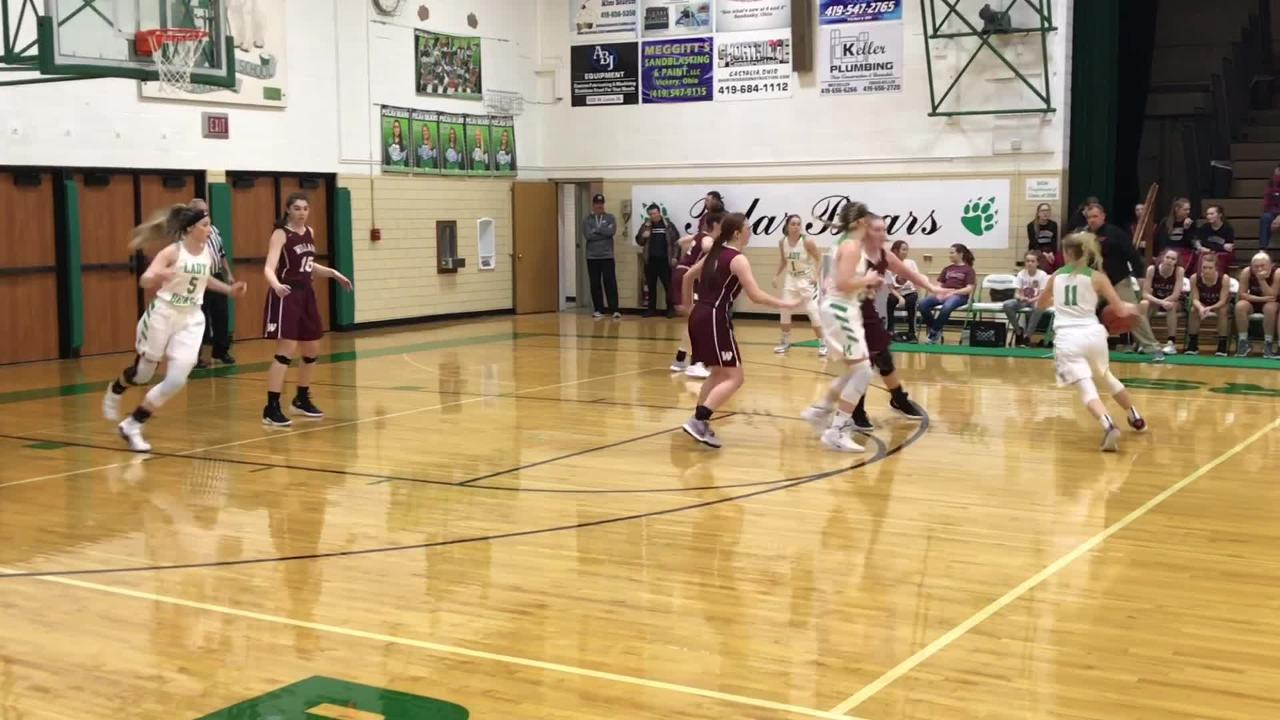 Margaretta topped Willard for two-game lead in Bay Division.