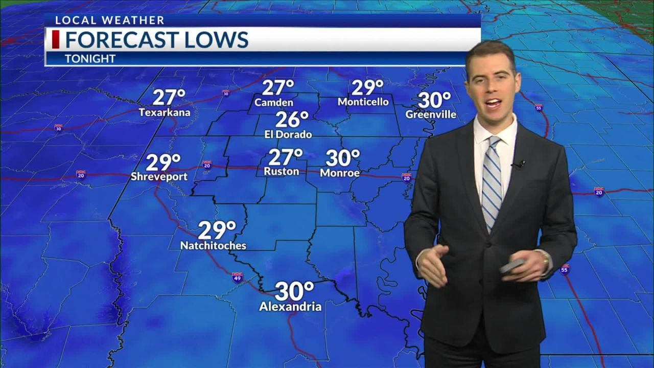 Here's a look at today's forecast, courtesy of NBC 10 News.