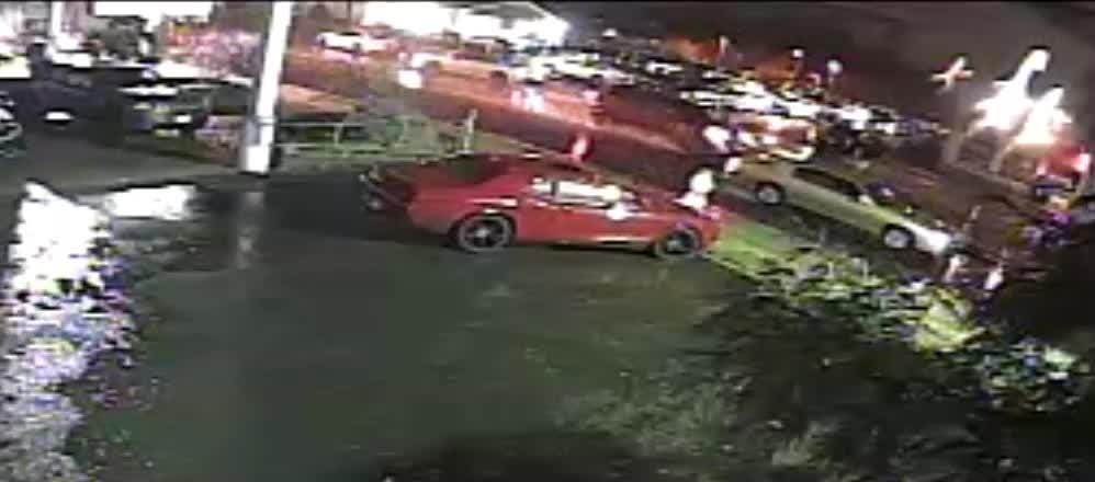 Linden police are looking for a red Jeep Grand Cherokee in connection with a hit-and-run crash that critically injured a Fanwood woman