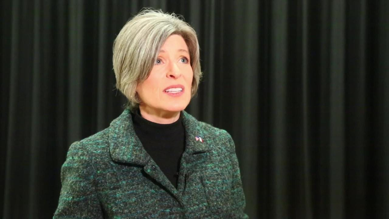 The Iowa senator got emotional as she spoke about her private life becoming public, including allegations that her husband physically assaulted her.