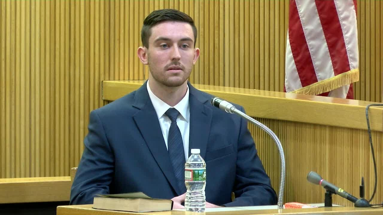 Preston Taylor testifies about the plan to rob and kill Sarah Stern