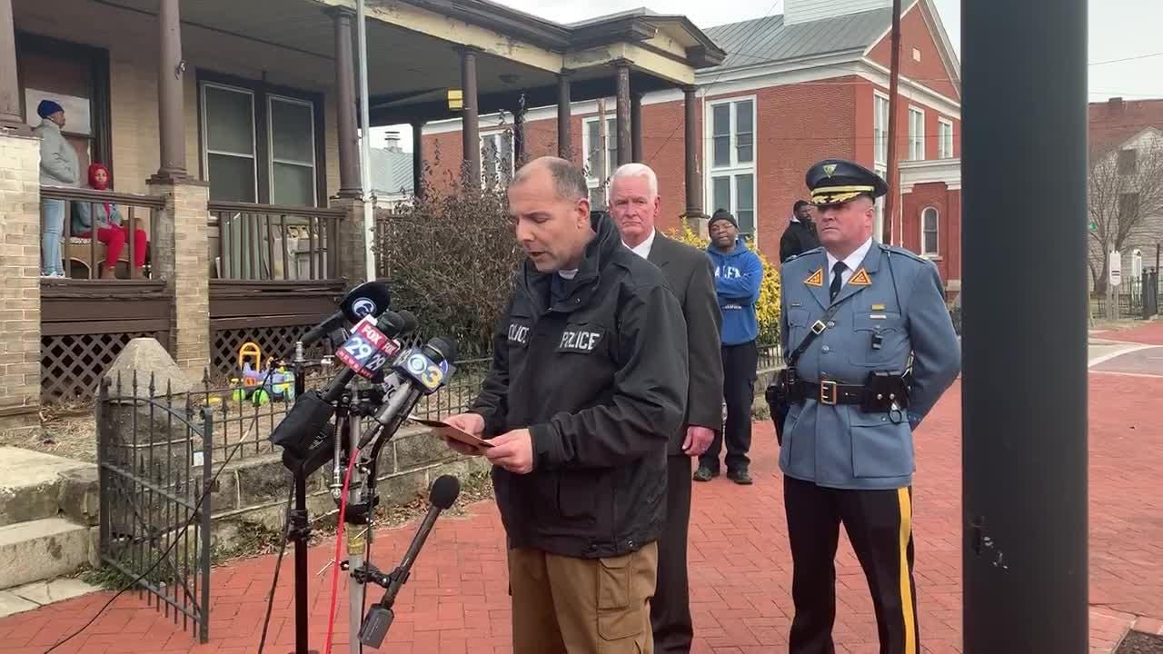 Briefing on shooter arrest in Salem, NJ