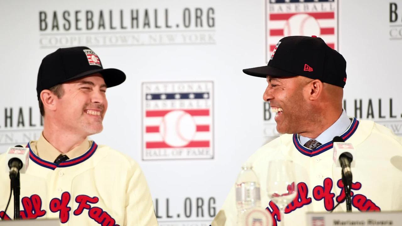 5adca8a7158 New York Yankees Mariano Rivera awed by Baseball Hall of Fame visit