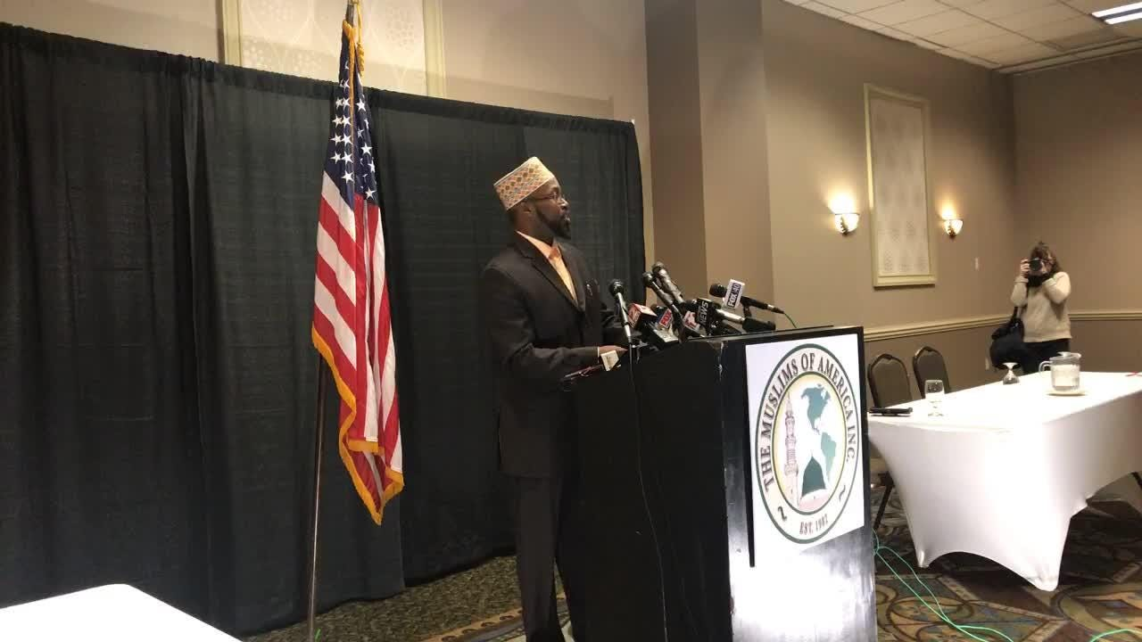 In a press conference on Jan. 23, members of the Delaware County Islamberg community responded to an attack plot that was thwarted by law enforcement.