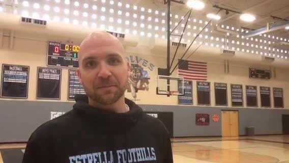 Estrella Foothills assistant basketball coach Chad Williams is using his personal struggles to help others in need