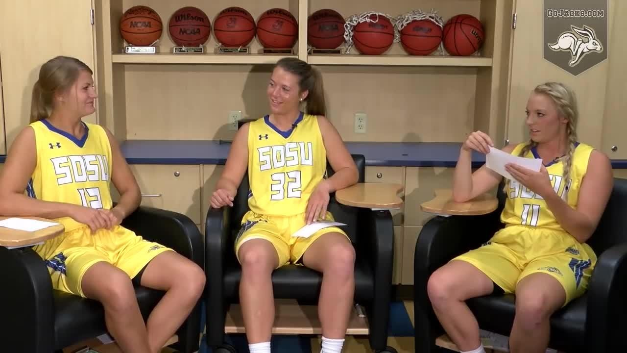Find out more about the women's basketball team in the video feature, This is Us! Part four of this series features seniors Macy Miller, Sydney Palmer, and Madison Guebert.