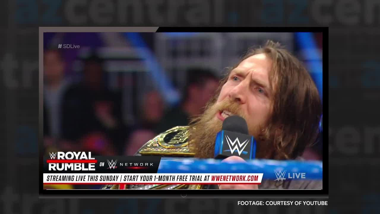 azcentral media critic Bill Goodykoontz has picked his favorite video of the week, featuring a WWE wrestler, and it's a doozy!