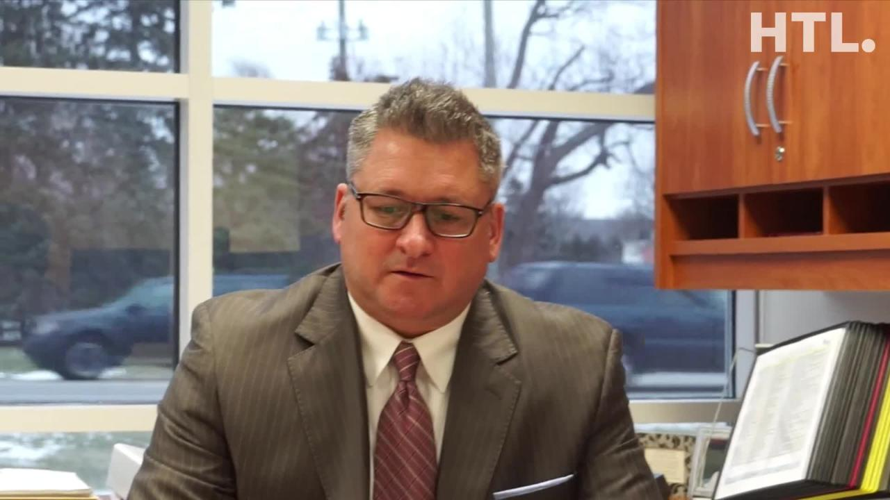 Birmingham Superintendent Mark Dziatczak talks about beginning his job of overseeing the 8,100 student school district.