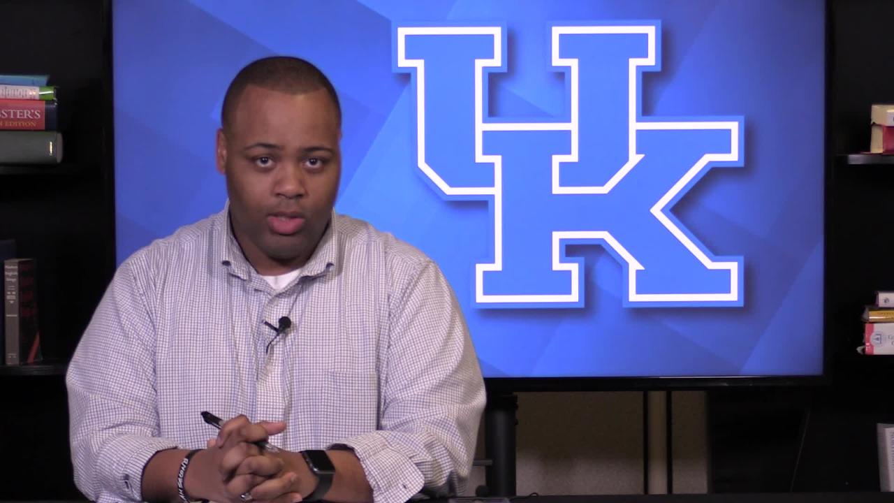 Kentucky basketball has a huge opportunity in hosting Kansas on Saturday.