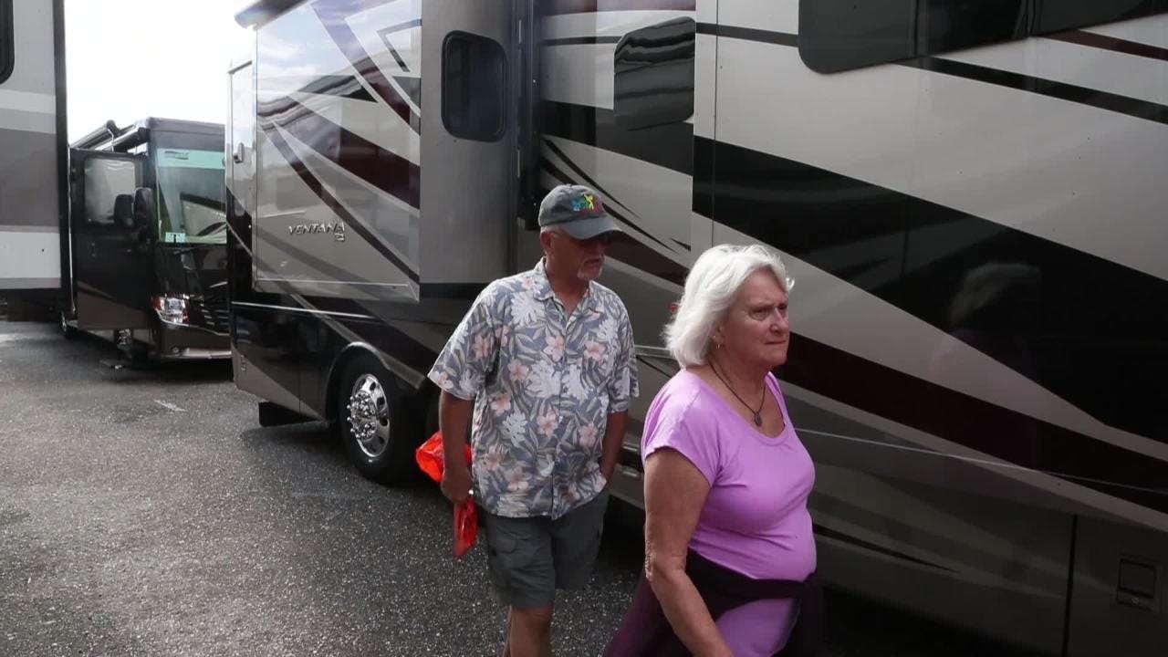 Fort Myers RV Show offers large and small varieties of RV's
