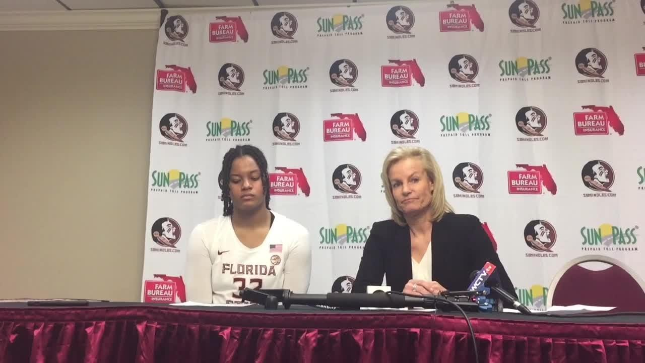 The Seminoles were outscored 20-6 in the first quarter and failed to ever cut the deficit to less than seven points.
