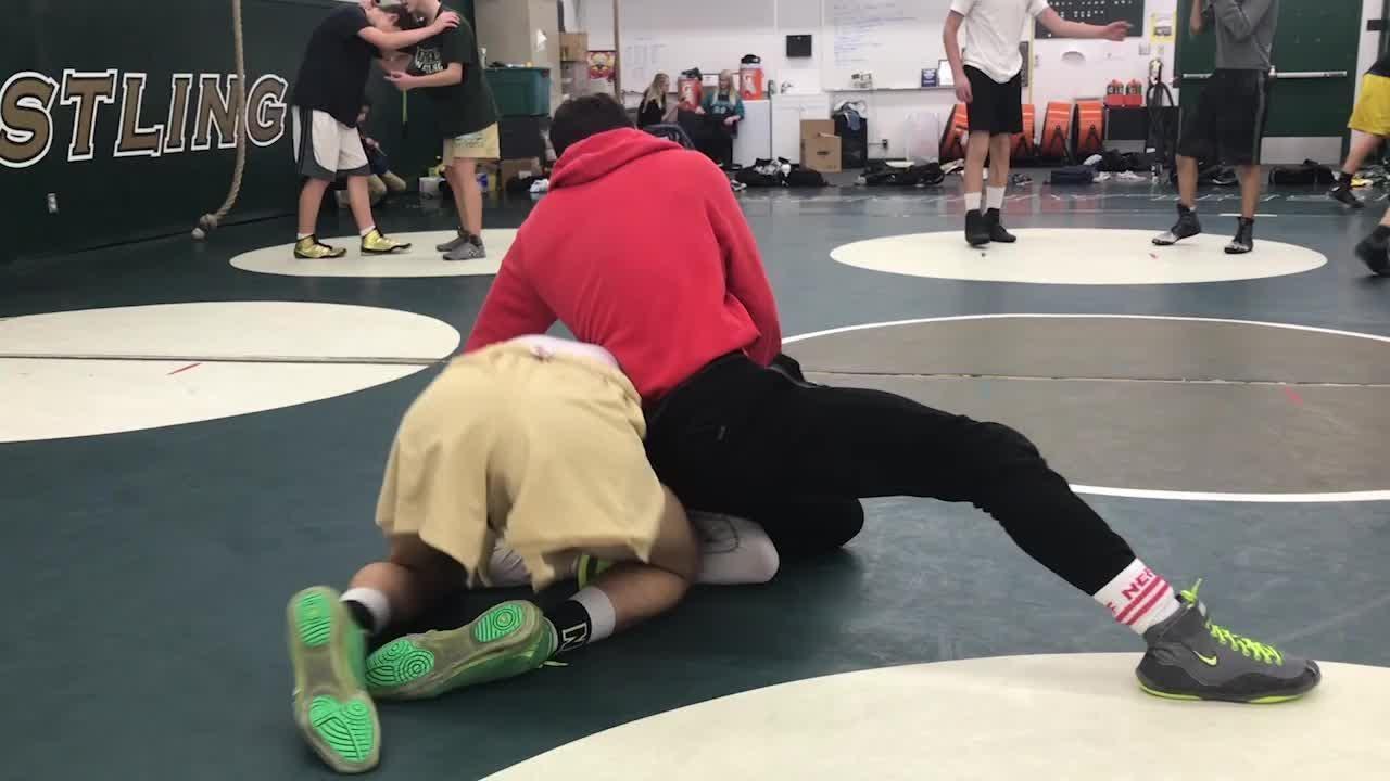 A CIF champion last season, Royal High senior wrestler, Jacob Hansen — ranked eighth in the state — has set lofty goals for this year's postseason.