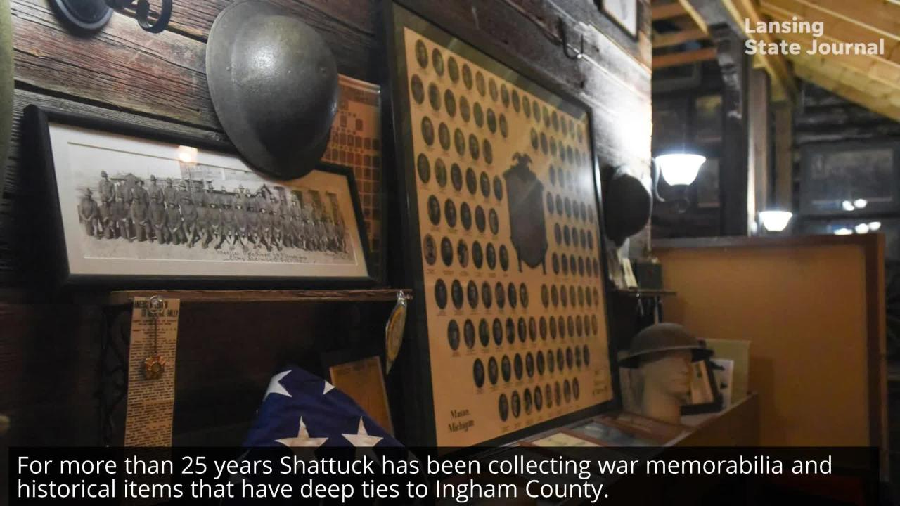 Five generations of Scott Shattuck's family have lived in his 131-year-old farmhouse. He's spent 25 years creating a one-of-a-kind museum there.