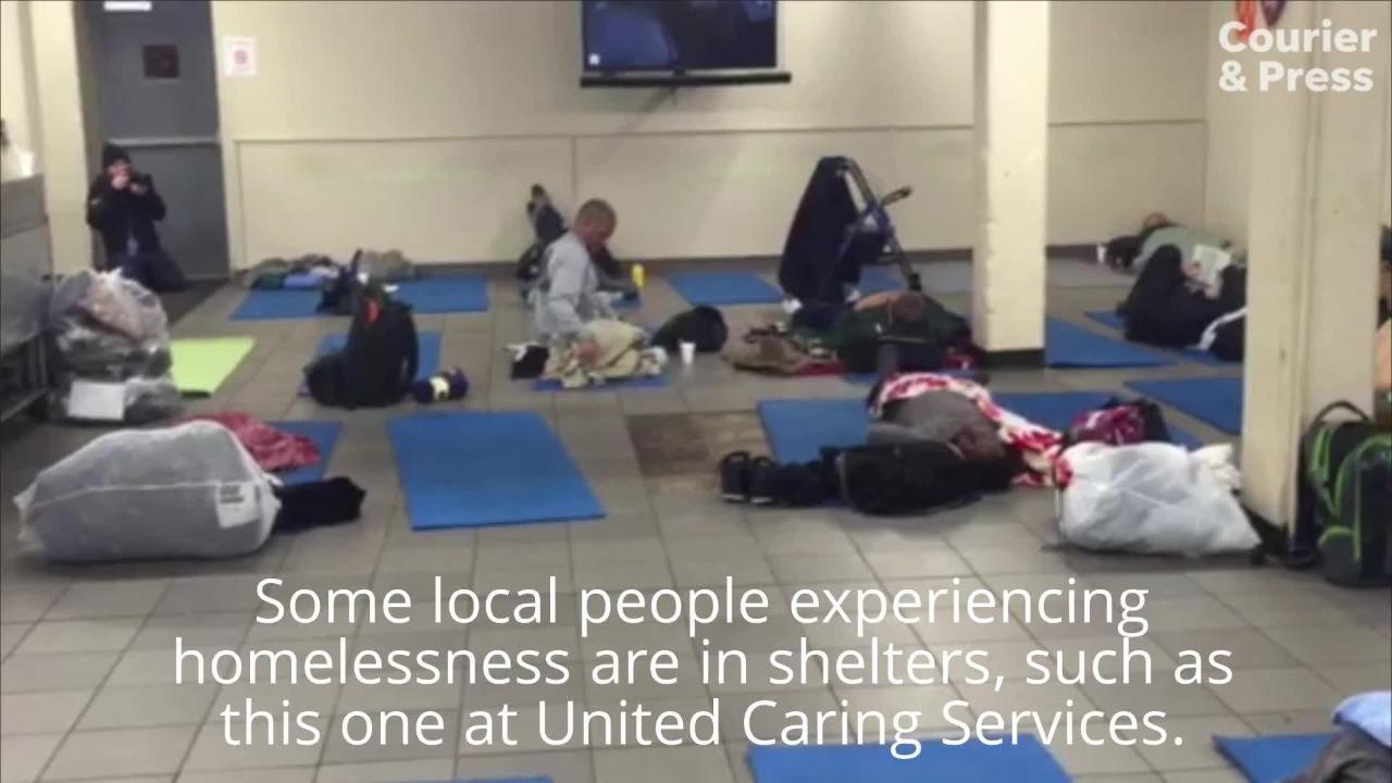 A snapshot of Evansville homelessness