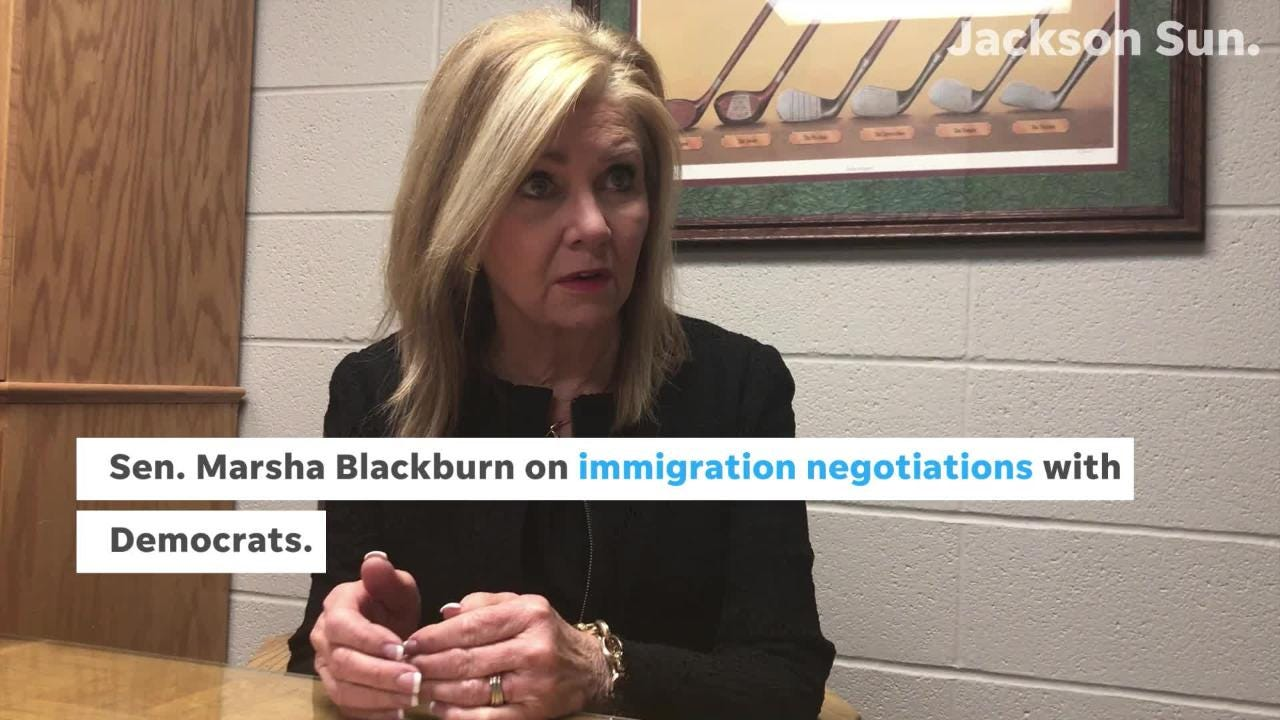 Sen. Marsha Blackburn on what's next for negotiations after the federal government is temporarily funded