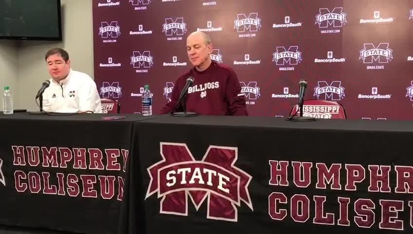 MSU head coach Ben Howland previews Auburn game.