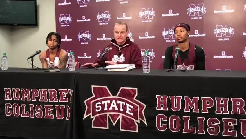 Mississippi State head coach Vic Schaefer analyzes his team's win over Florida.