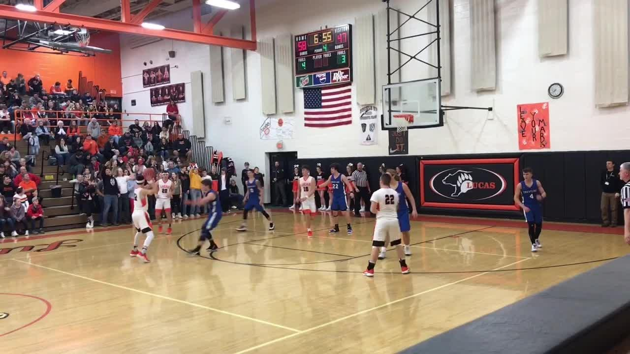 The Lucas Cubs hosted the Crestline Bulldogs on Friday night.