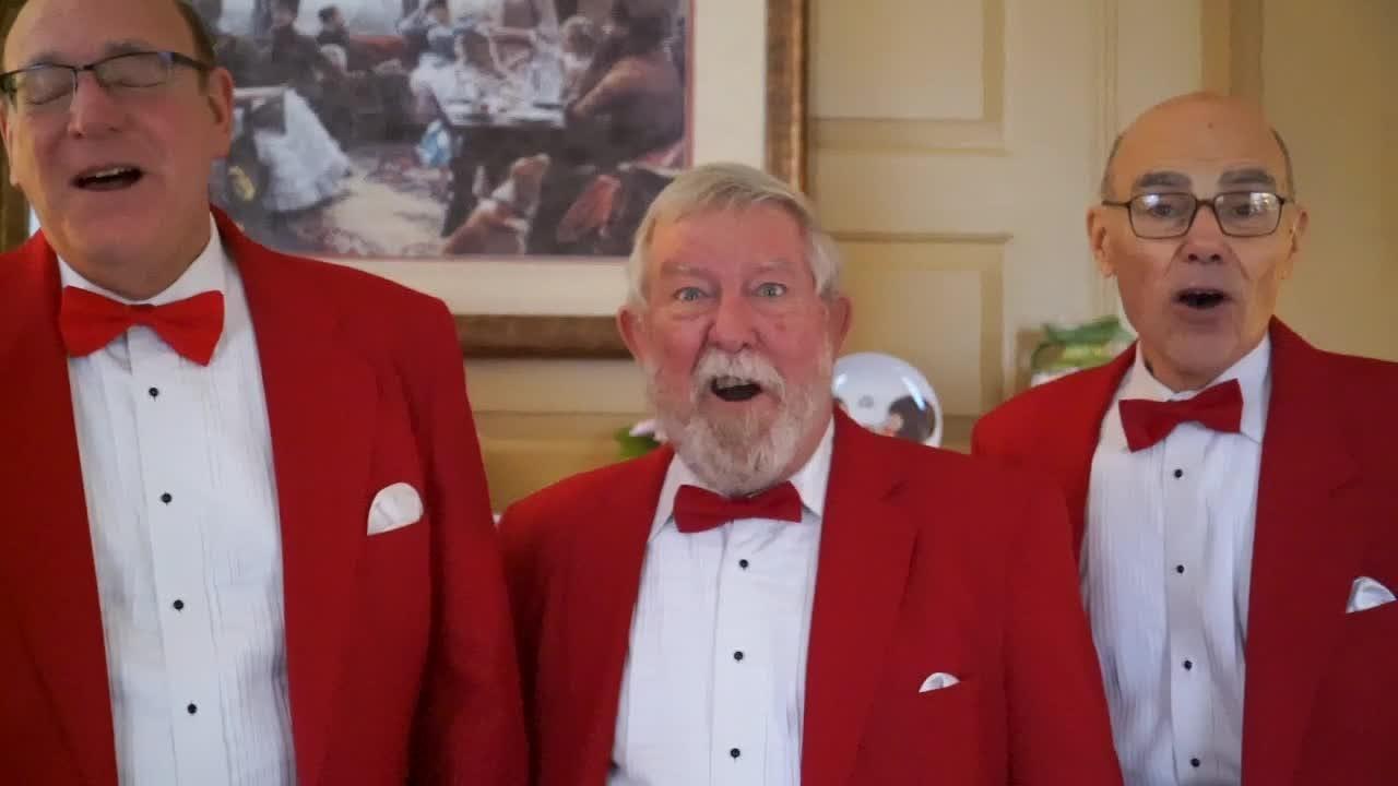 A promotional video of the Hunterdon Harmonizers' Valentine's Day program.