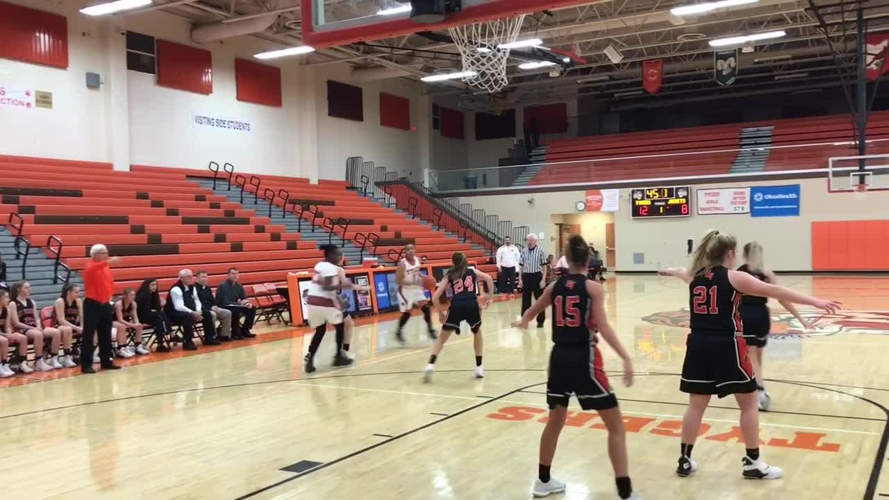 Highlights: Mount Vernon at Mansfield Senior Girls Basketball