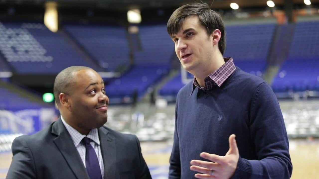 Courier Journal's Dominique Yates and Jon Hale with Kentucky Kansas breakdown