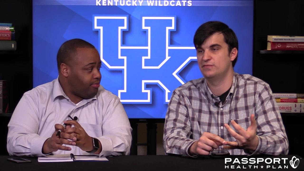 The Courier Journal's Dominique Yates and Jon Hale take a closer look at Kentucky basketball's Tuesday night showdown at Vanderbilt.