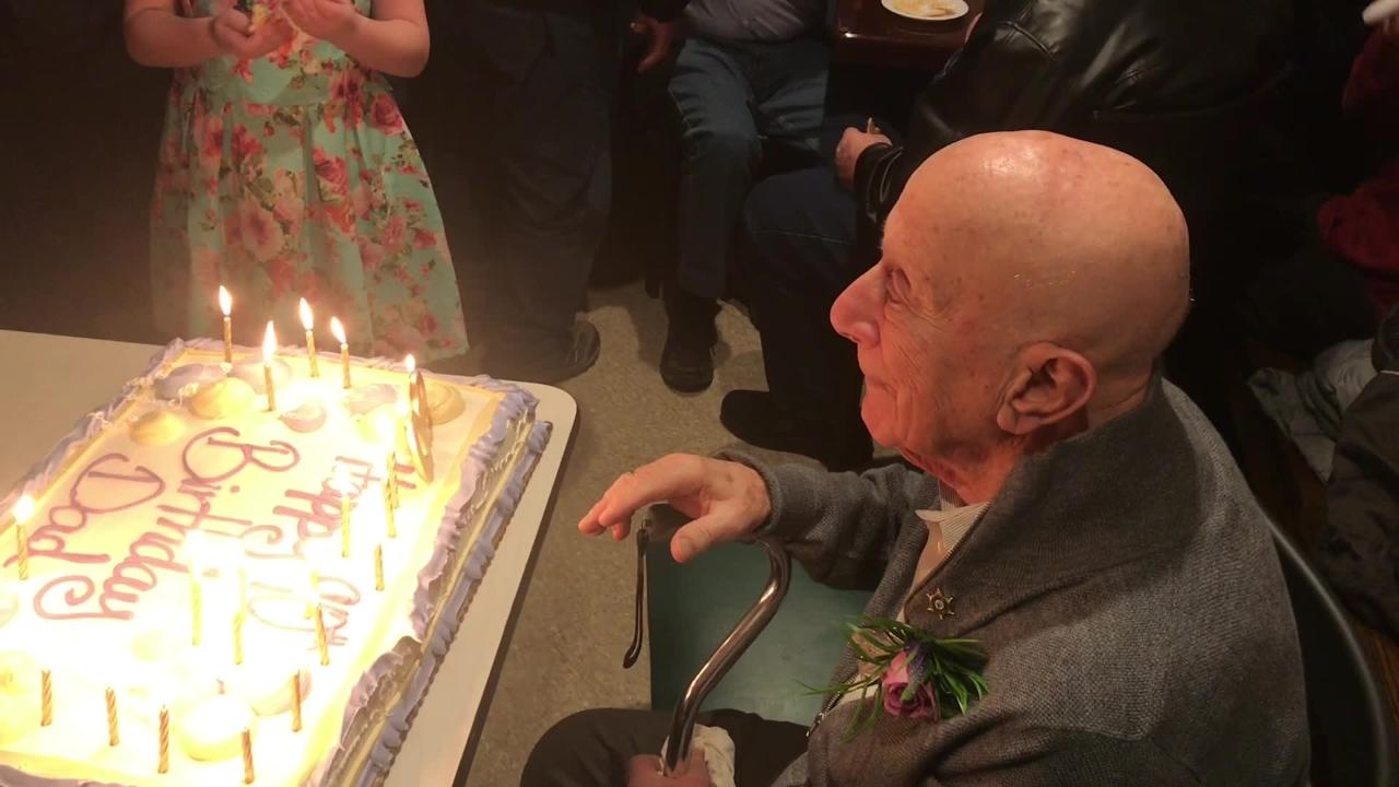 The 83-year-old Reservoir Tavern, America's 10th-oldest pizzeria,  celebrates the 90th birthday of family-business patriarch Nick Bevacqua Jr.