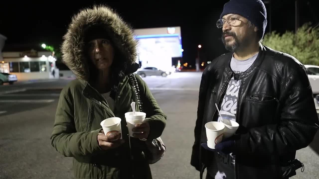 A look into the lives of homeless people who lived in the Coachella Valley.