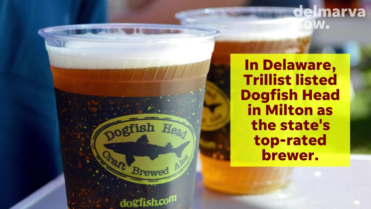 Evolution Craft Brewing and Burley Oak have won honors from Thrillist among Maryland brewers.