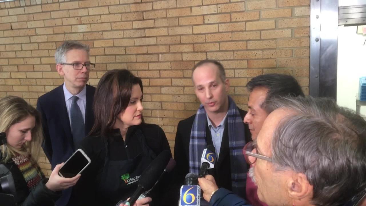Lansing Mayor Andy Schor talks about city's response to polar vortex