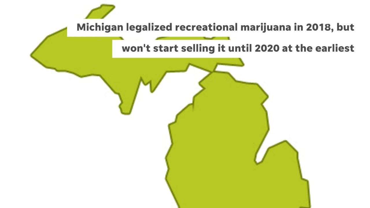 recreational marijuanas states 2020 map