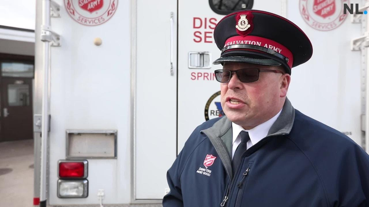 Major Butch Frost talks about opening up the Harbor House as a cold weather shelter.