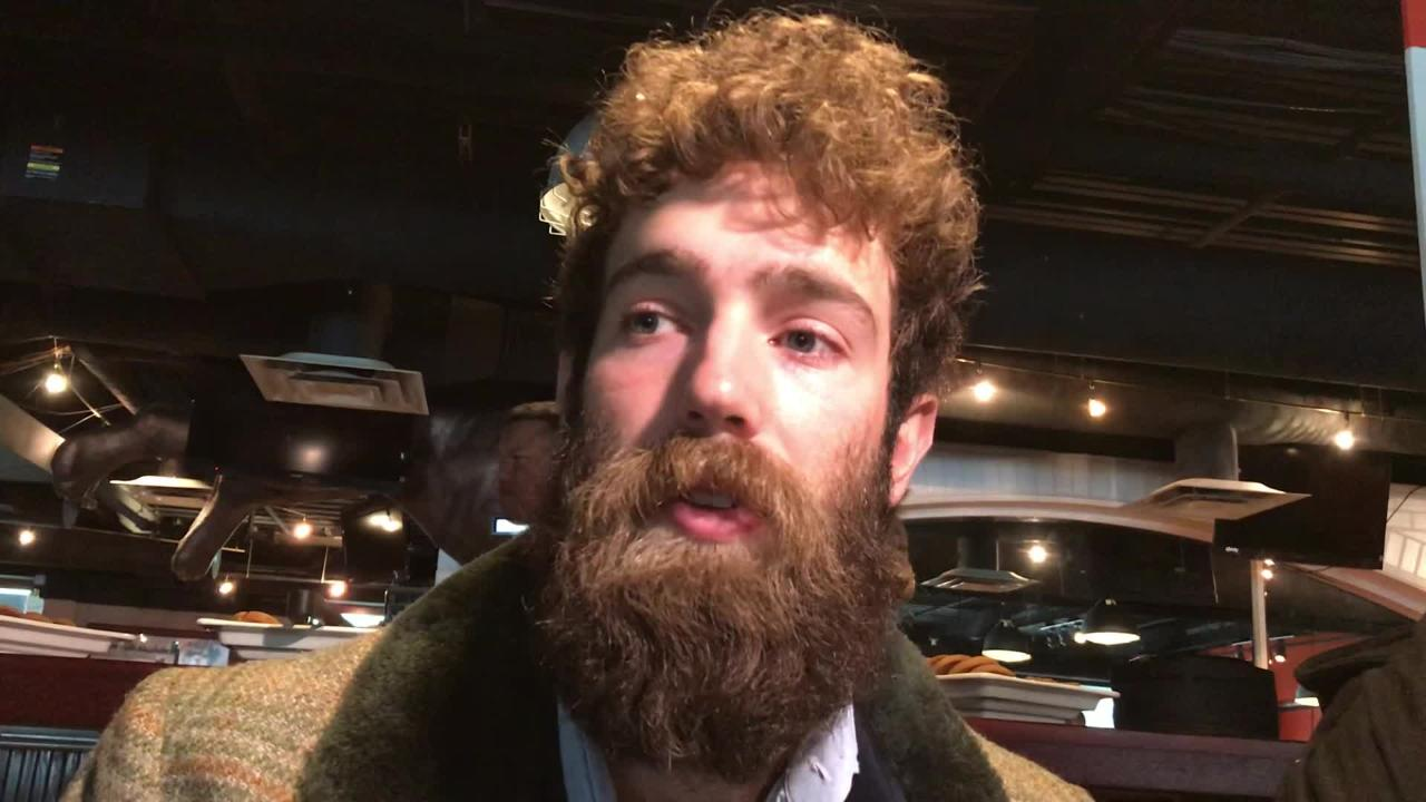 Tigers pitcher Daniel Norris met with the media over the weekend during the Tigers Winter Caravan and TigerFest.