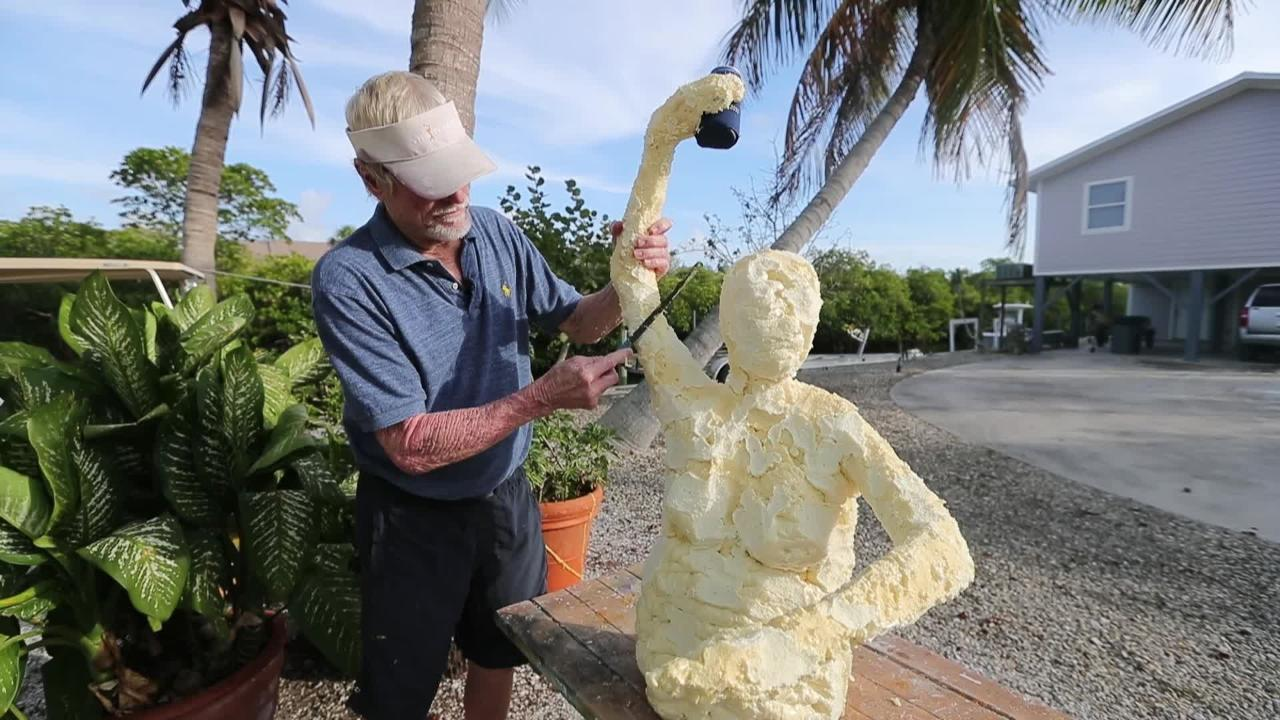 Pine Island artist creates whimsical sculptures