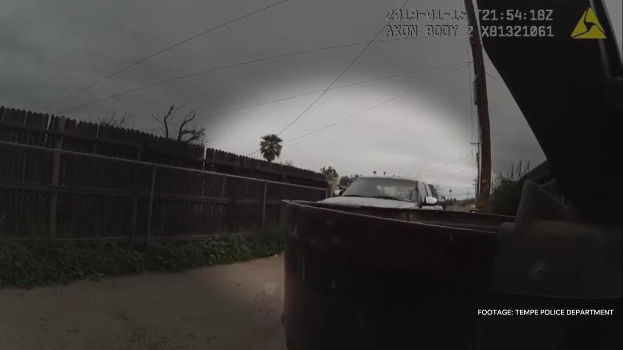 Enhanced body camera video shows Tempe police officer shooting 14-year-old