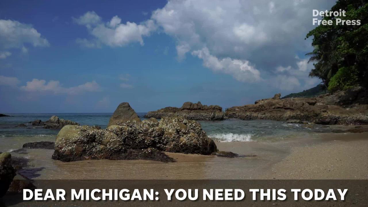 As polar vortex slams Michigan, here are some beaches